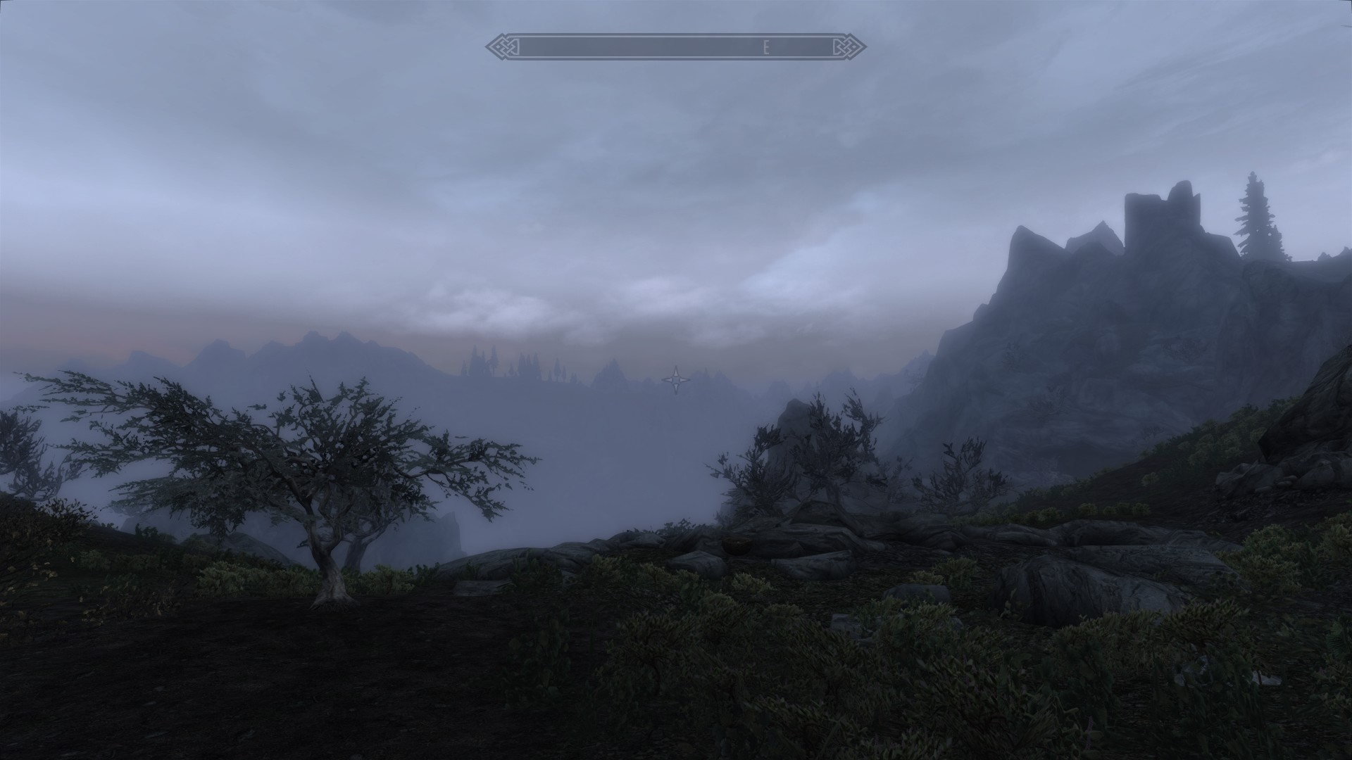 Even cloudy days are beautiful with Climates of Tamriel.