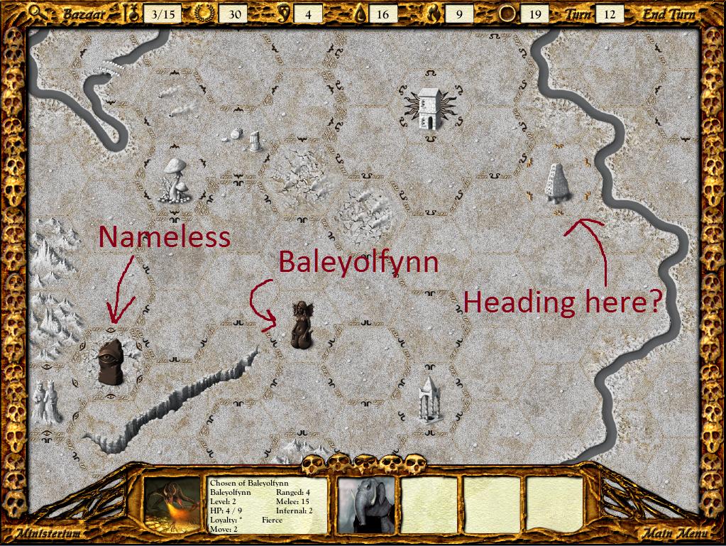 Baleyolfynn is on the move again.