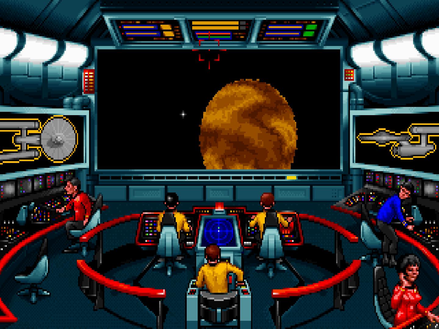 The iconic bridge of the Enterprise.