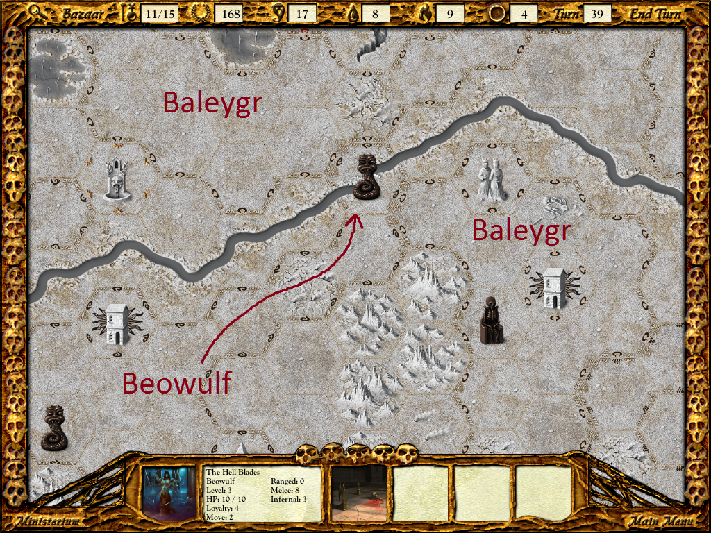 Beowulf bisects Baleygr's territory.