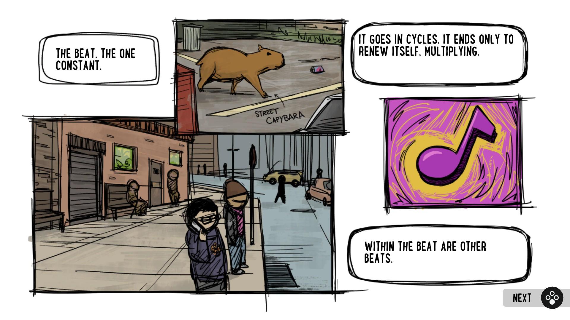Some sage advice from Street Capybara.