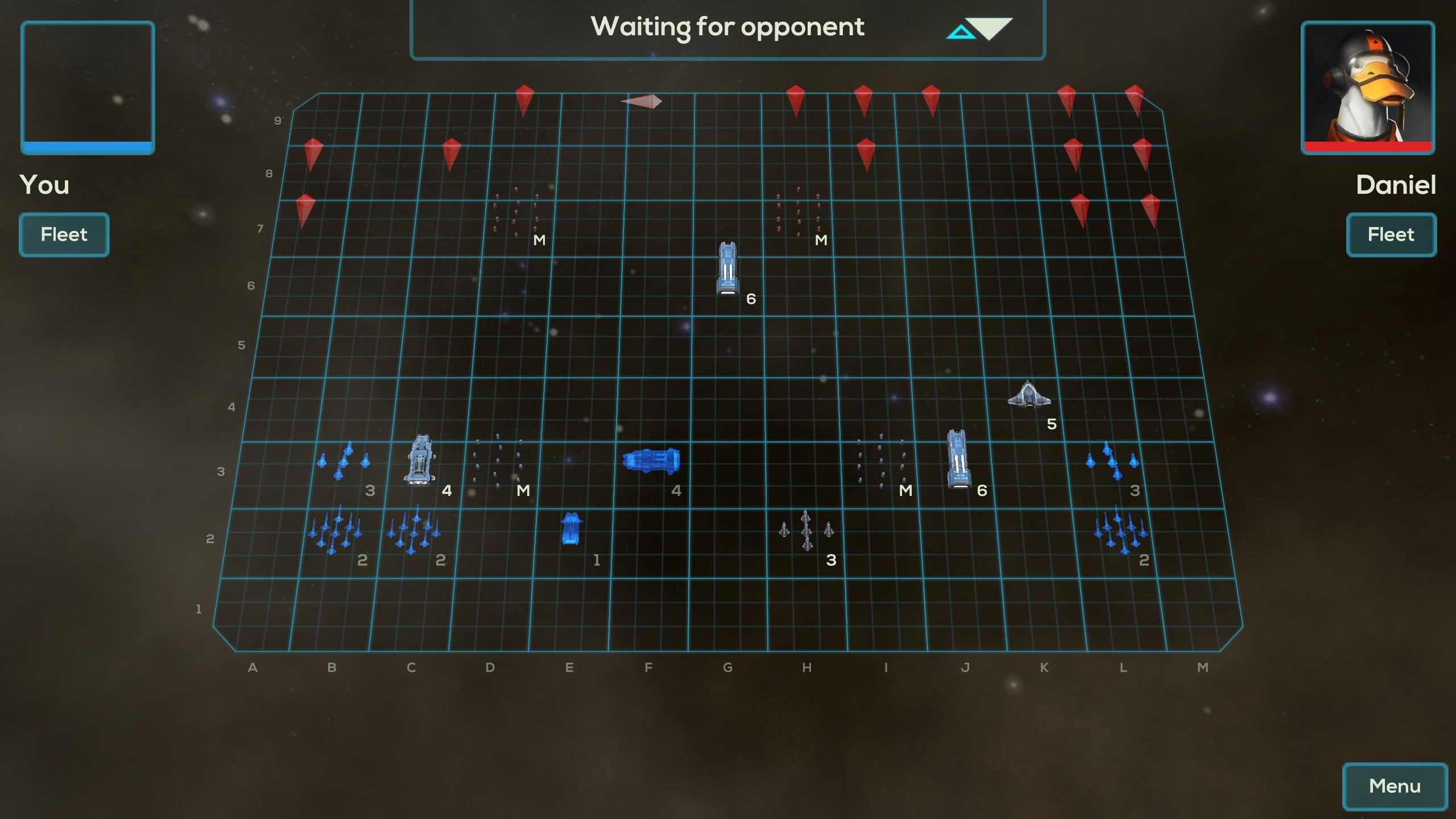 Where's that command ship hiding?